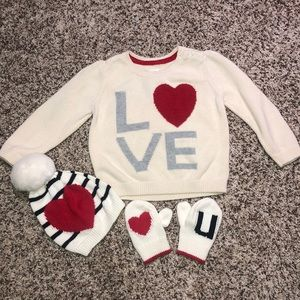 Baby Gap LOVE Outfit